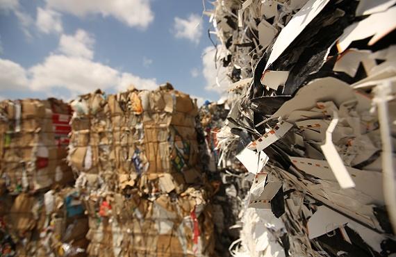 מחזור נייר במפעל קממ